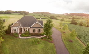 elburn sugar grove luxury ranch home lot acreage horse property custom home builder house for sale